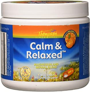 Thompson Calm and Relaxed Flavored Supplement, Orange, 300 Gram