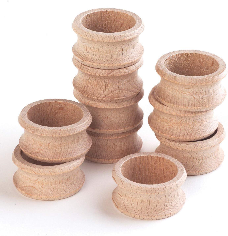 TickiT 73905 Servilleteros de madera, 10 unidades