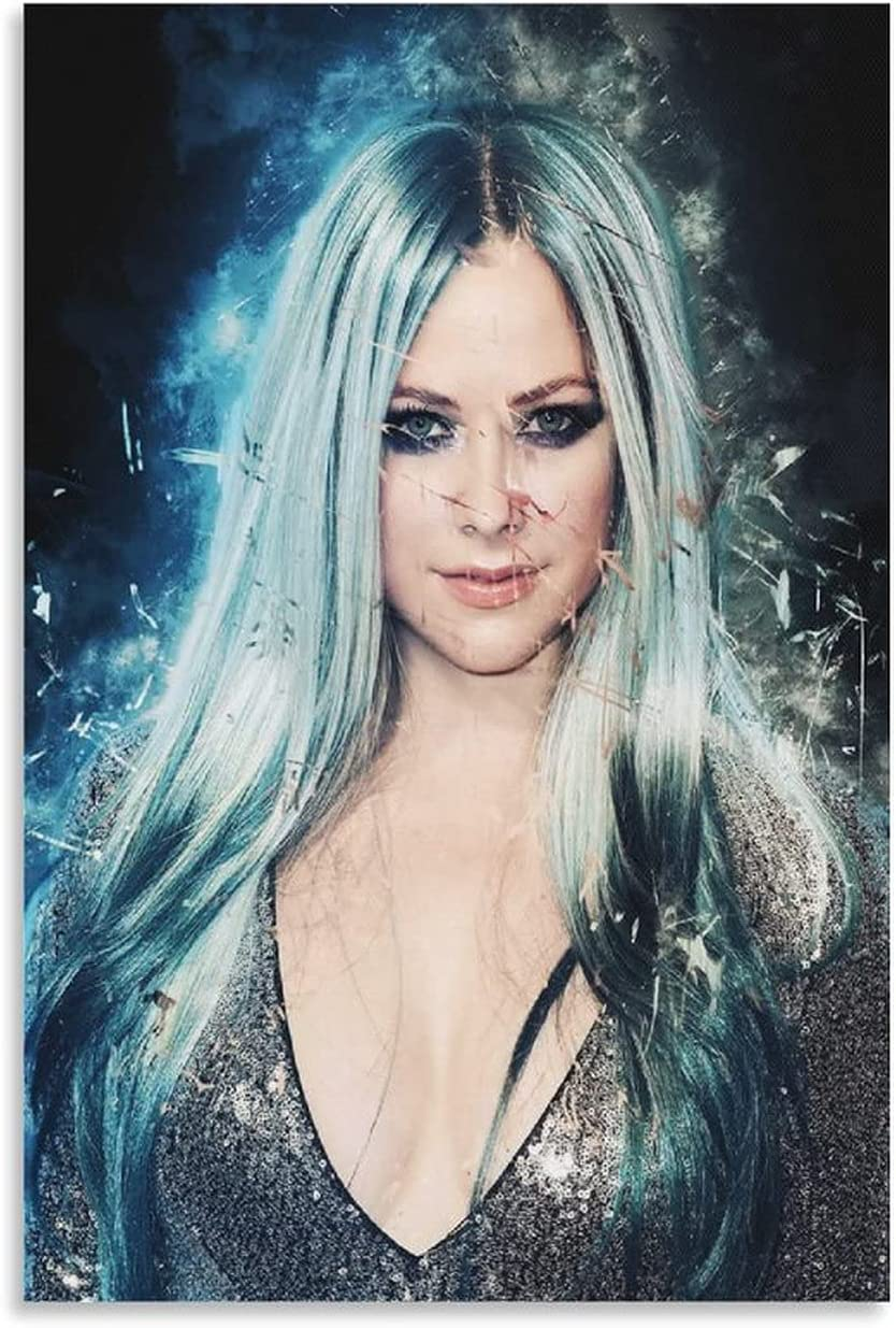 shisheng Avril Lavigne Canvas Art Wall Pr Picture and Poster Department Max 59% OFF store
