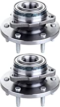 SCITOO Compatible with Wheel Hub Bearing and Hub Assembly fit Chevy HHR 2006-2008 Front Wheel with 5 Bolts 513237(Pack of 2)
