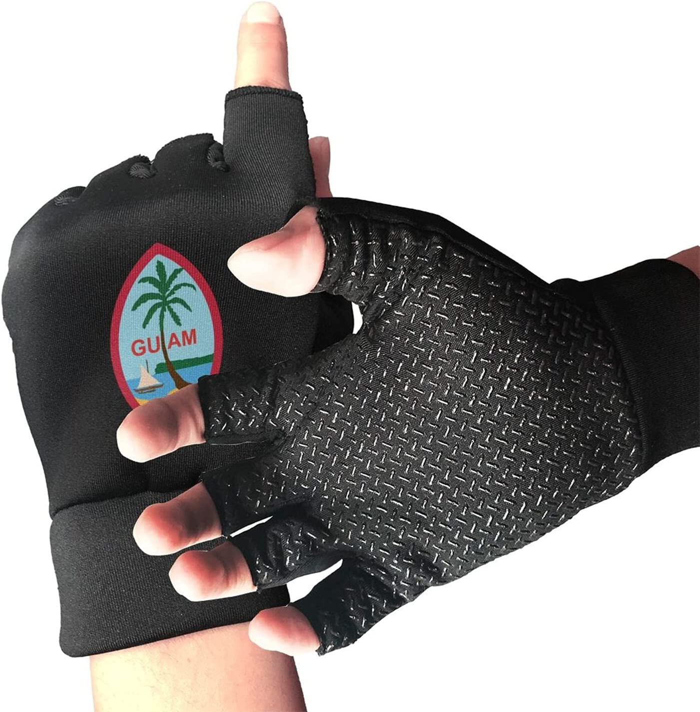 Guam Us Flag Sports Super beauty product restock quality top! depot Gloves Suitable B Warmth for Exercise Unisex