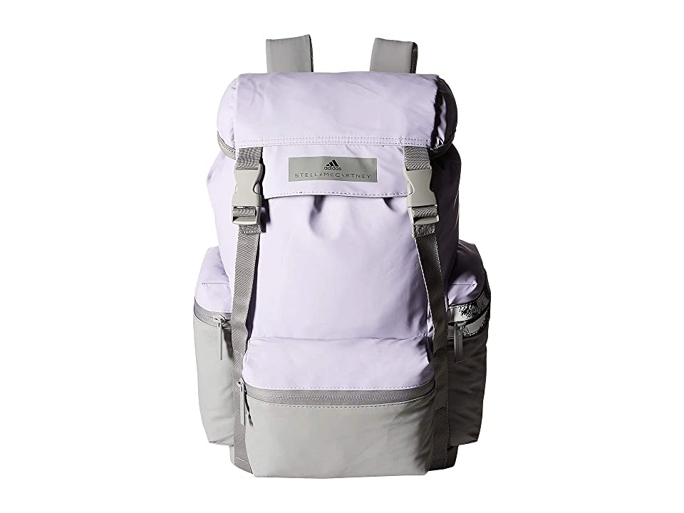 adidas by Stella McCartney Backpack (Iced Lavender/Charcoal Solid Grey/White) Backpack Bags