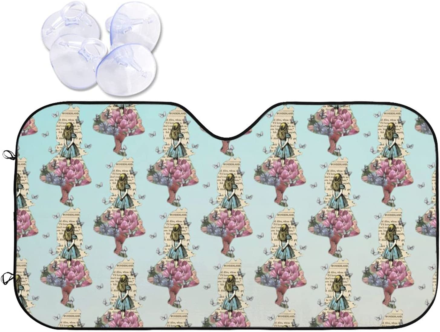 Alice in Wonderland Factory outlet The Front Sunshade of Car Fresno Mall Cur Windshield