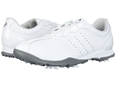 adidas Golf Adipure DC (Footwear White/Silver Metallic/Silver Metallic) Women