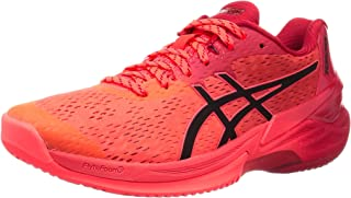 ASICS Men's 1051A055-701_43,5 Volleyball Shoes, red, 10.5 UK