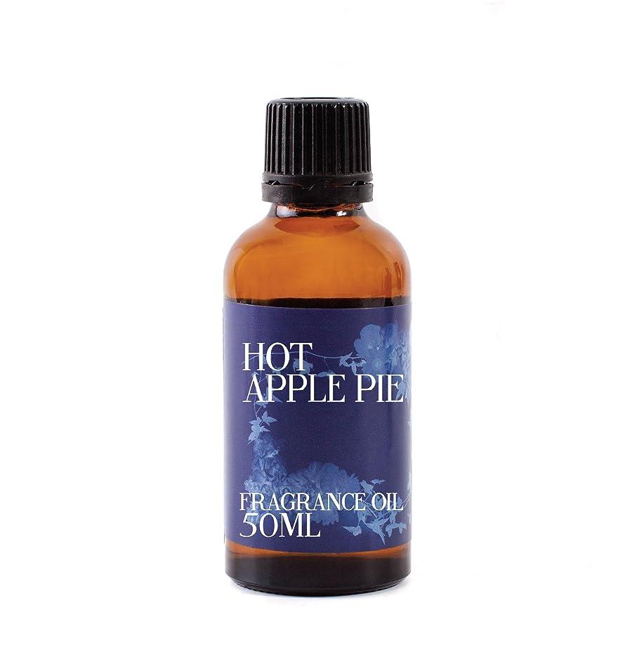 行き当たりばったりトースト失速Mystic Moments   Hot Apple Pie Fragrance Oil - 50ml