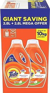 Tide Automatic Power Gel Laundry Detergent, Original Scent, 2.8 Litre (Dual Pack)