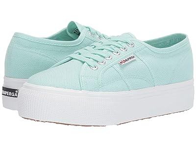 Superga 2790 Acotw Platform Sneaker (Green Water) Women
