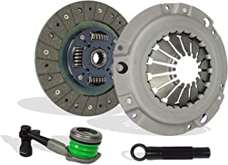 Clutch With Slave Kit works with Chevrolet Cobalt HHR Pontiac G5 Ls Lt Base Gt Le Ltz 2006-2011 2.2L L4 2.4L L4 Dohc Naturally Aspirated