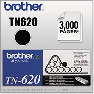 Brother TN620 Toner Cartridge, 3000 Page Yield, Black