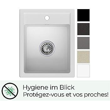 Blanco Subline 500-U 523/436//Évier de cuisine Blanc