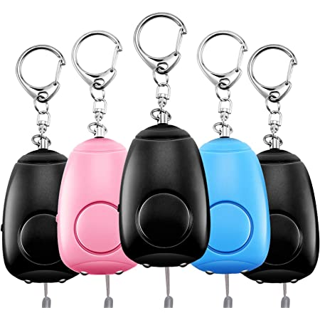 CamAid Personal Alarm Siren Song Security Sound Whistle Safety Siren Emergency Self Defense for Kids /& Elderly 130dB Safesound Personal Alarms for Women Keychain with LED Light