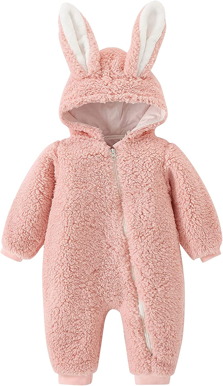 KONF Infant Baby Warm 4 years warranty Jacket Hooded War Outwear Bunny Girls Boys Atlanta Mall