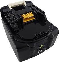 BL1440B 14,4 V, 5000 mAh Bater/ía de repuesto para Makita BL1430 BL1440 BL1450