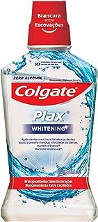 Colgate BR00973B Enjuague Bucal Plax Whitening 500 ml, color, 500 ml, pack of aquete de