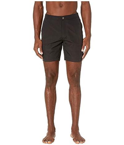 onia Calder 7.5 Swim Shorts (Black) Men