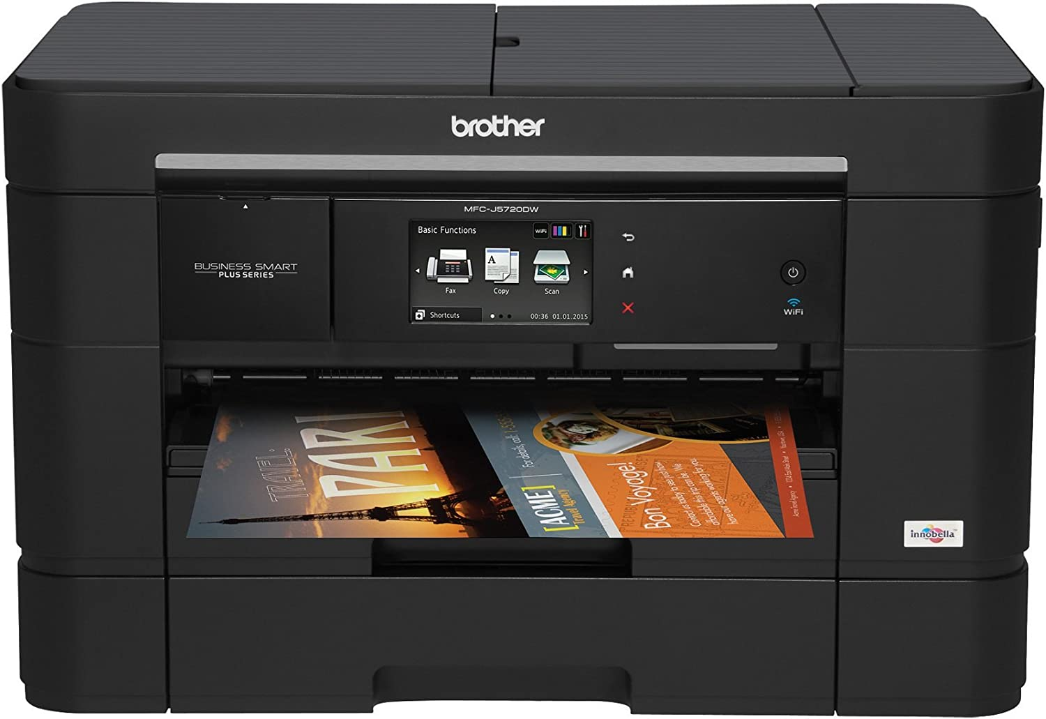 Brother Business Smart MFCJ5720DW All-in-One Color Inkjet Printer with Fax, Amazon Dash Replenishment Ready