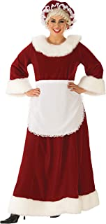 Womens Curvy Premium Traditional Mrs. Cl