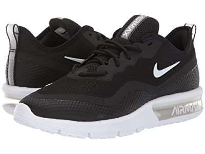 Nike Air Max Sequent 4.5 (Black/White) Women