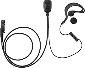 Maxtop AEH1003-AX G-Sharp Earhanger Earphone for Motorola XiR P6628 XIR E8600 E8608 XPR 3300 XPR 3500