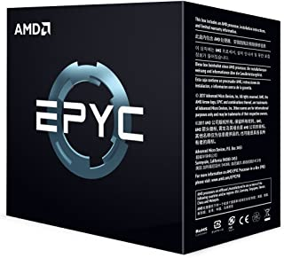 AMD PS755PBDAFWOF EPYC 7551P 32-Core 2.0 GHz Socket SP3 180W Server Processor - Black