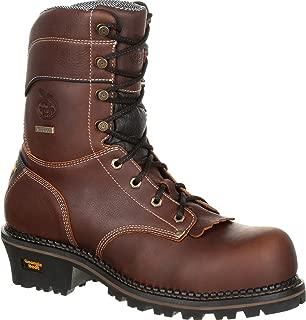 GB00235 Men's Amp Lt Logger Wtrprf Work Boot