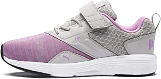 Puma Unisex's NRGY Comet V PS Gray Violet-Orchid Sneakers