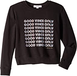 Good Vibes Classic Crew Neck (Toddler/Little Kids/Big Kids)