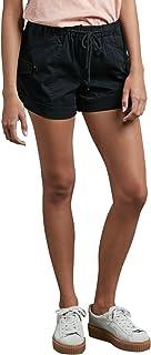 سروال Volcom النسائي قصير برباط مطاطي عند الخصر