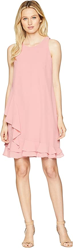 Chiffon Sleeveless Float with Ruffles