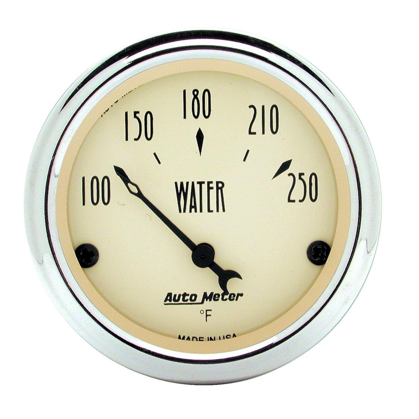 Auto Meter 1837 Antique Beige Water Temperature Gauge