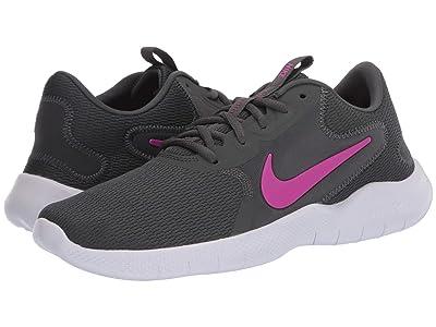 Nike Flex Experience Run 9 (Iron Grey/Fire Pink/Smokey Mauve) Women