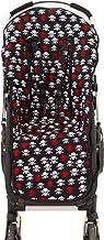 Borda y más AMZ8802 - Colchoneta bugaboo y protector arnés silla paseo, color calaveras