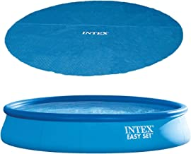 Intex 15ft x 33in Above Ground Swimming Pool, Filter Pump and Vinyl Solar Cover