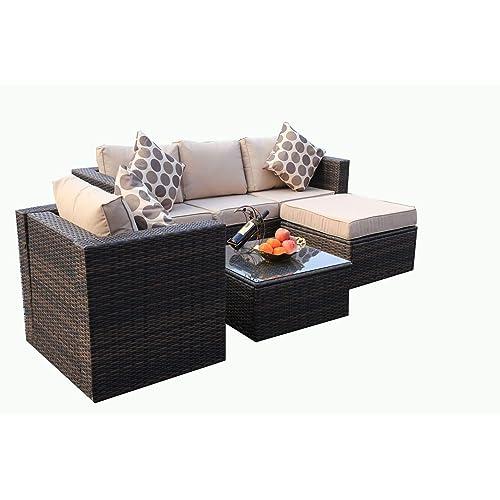 Rattan Patio Furniture Amazon Co Uk