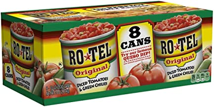 RO-TEL Diced Tomatoes & Green Chilies (10 oz. cans, 8 ct.) - SCL