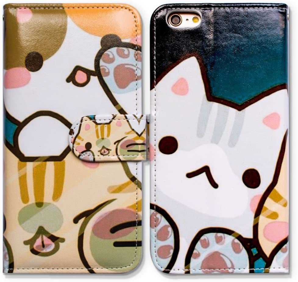 iPod OFFicial site Touch 7 Case 6 Cartoon Bcov Cat White Outlet SALE Walle