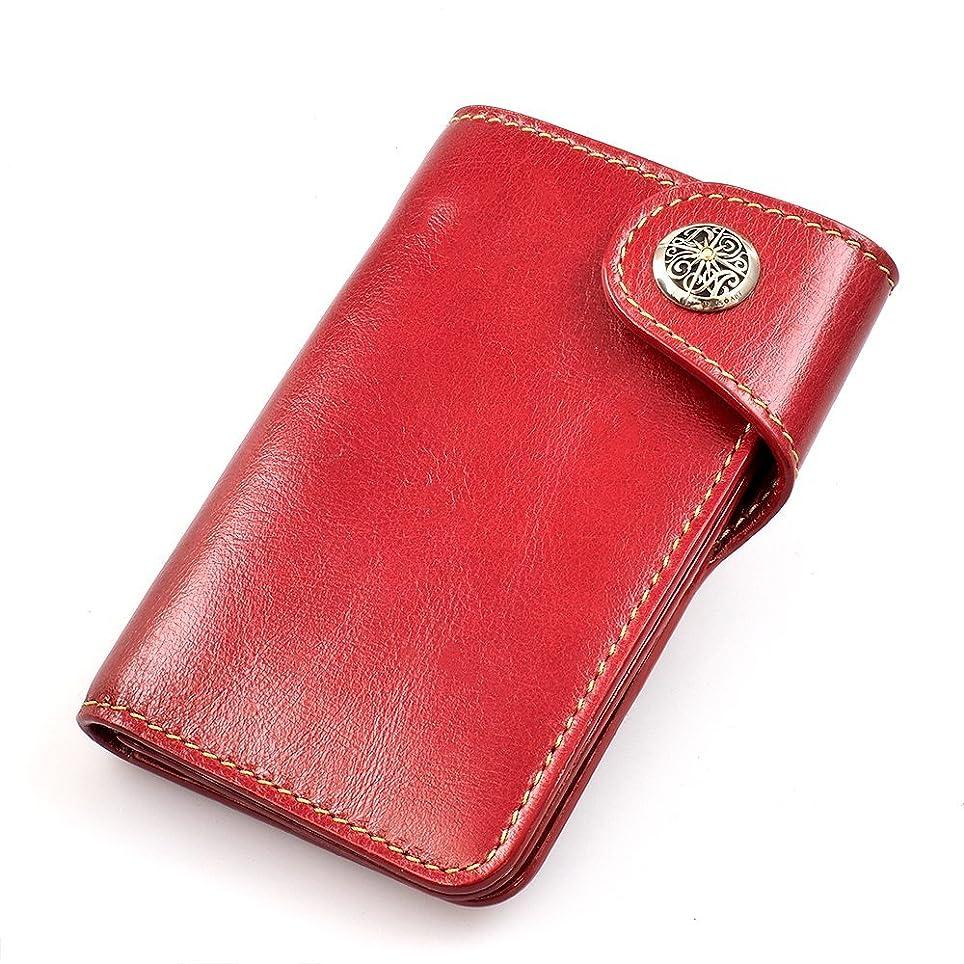 つかいますレンディションタイトルDaysArt(デイズアート)牛革2つ折り財布 ミドルサイズ カーフスキン レザーウォレット メンズウォレット ショートウォレット コンチョ