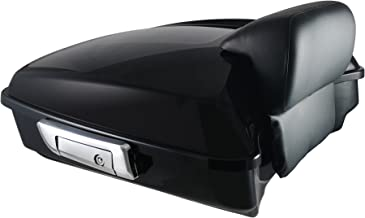 Bagger Brothers BB-HD1584-081 Black Backrest Pad CVO-Style Passenger, Fits 2014-2018 Harley Davidson Touring Model with King Tour-Pak