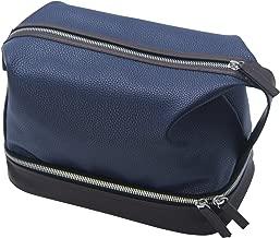 Leather Toiletry Bag For Men,Chomeiu Man Bag Dopp Kit Large Shaving Kit Organizer Travel Bags For Toiletries Clutch Bath Bag With Gift Box