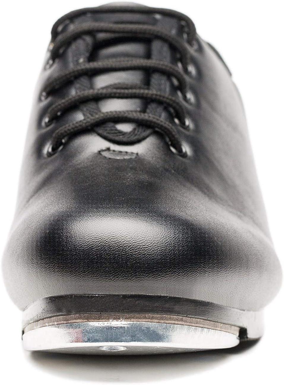 Joocare Mens Split Sole Jazz Tap Dance Shoes