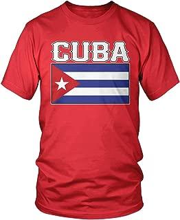 Men's Cuban Flag, Flag of Cuba T-Shirt