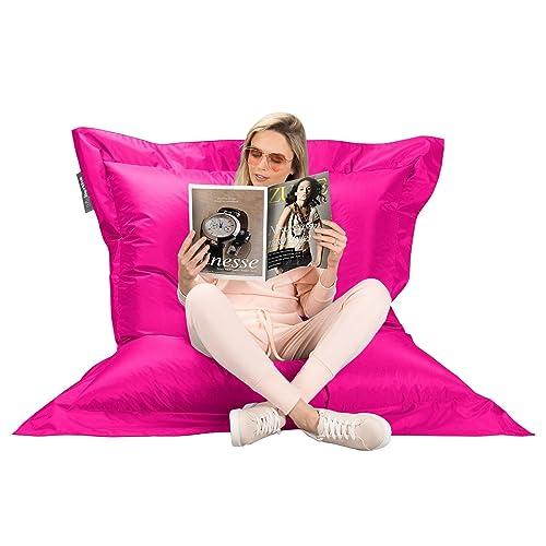 fauteuil pouf rose. Black Bedroom Furniture Sets. Home Design Ideas