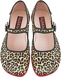 Hot Chocolate Design Chocolaticas Leopard Women's Mary Jane Flat Multicoloured US Size: 5