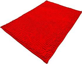 Amazon Com Red Bathroom Rug