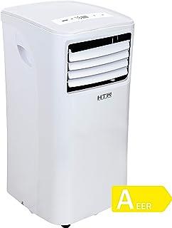 comprar comparacion HTW PC-020P26 Aire acondicionado portátil (solo frío), para estancias de hasta 16m2, 1.700 frig/h, 47 Decibelios, 3 Veloci...