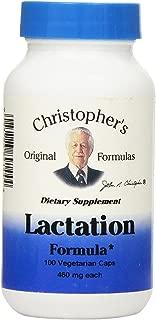 Dr. Christopher's Formula Lactation Formula, 100 Count (Pack of 2)