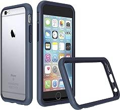 RhinoShield Bumper Case for iPhone 6 Plus/iPhone 6S Plus [CrashGuard] | Shock Absorbent Slim Design Protective Cover [3.5 M / 11ft Drop Protection] - Dark Blue