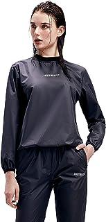 HOTSUIT Sauna Suit Women Durable Gym Workout Sauna Jacket Pants Sweat Suits