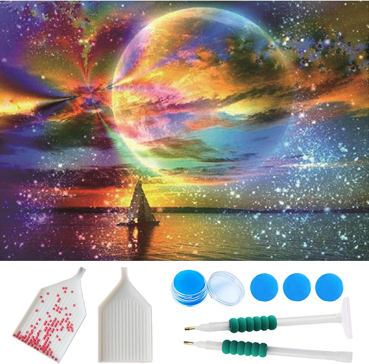 5d Diamond Painting Kits overseas for Adults La Drill Full 15.8x23.6 Inch OFFicial mail order